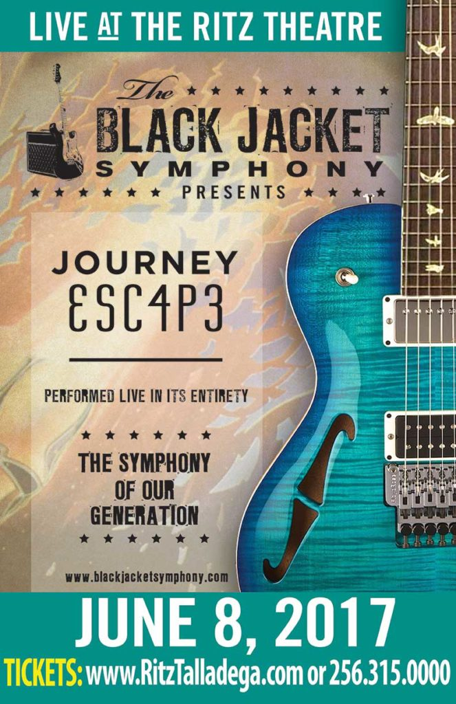 Black Jacket Symphony Presents Journey ESC4P3 @ Talladega's Historic Ritz Theatre  | Talladega | Alabama | United States